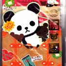 Q-Lia Japan Pandaful Days Letter Set with Stickers Kawaii