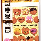 Pool Cool Japan Many Lovely Cookies Letter Set with Stickers Kawaii