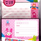 Sun Star Japan Ping Pong Mam Letter Set Rare Kawaii