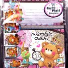 Stead Fast Japan Nostalgic Crown Letter Set with Stickers Kawaii