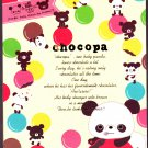 San-X Japan Chocopa Memo Pad with Stickers (A) 2011 Kawaii