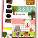 Mind Wave Japan Apricot Candy Letter Set with Stickers Kawaii