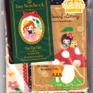 Q-Lia Japan Tiny Dwarf Story Letter Set with Mini Notebook Kawaii