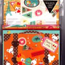 Q-Lia Japan Bear's Little Trip Letter Set with Stickers Kawaii