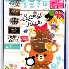 Mind Wave Japan Lucky Bear Letter Set with Stickers Kawaii