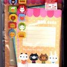 Crinos Japan You Make Me Smile Letter Set with Stickers Kawaii