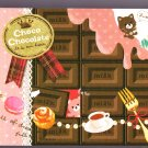 Crux Japan Choco Chocolate Mini Memo Pad Kawaii