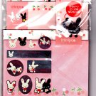 San-X Japan Mimipico Letter Set with Stickers Rare 1998 Kawaii