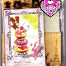 Kamio Japan Bonjour!  Friends Letter Set with Stickers Kawaii