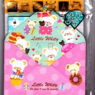 Kamio Japan Little Whity Letter Set with Stickers Kawaii