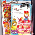 Kamio Japan Ragazza Dolce Letter Set with Stickers Kawaii