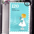 Kamio Japan Tina and Annie France Letter Set Kawaii