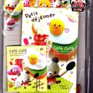 Kamio Japan Cafe Cafe Letter Set with Stickers Kawaii