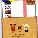 Mind Wave Japan Dear My Bear Letter Set with Stickers Kawaii