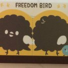 Q-Lia Japan Freedom Bird Mini Memo Pad Kawaii
