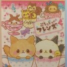 Crux Japan Tea Cup Kittens Mini Memo Pad Kawaii