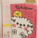 Mind Wave Japan Whipoo Letter Set with Stickers Kawaii