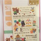 Mind Wave Japan Sequel To A Dream Letter Set with Stickers Kawaii