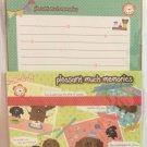 Kyowa Japan Pleasant Much Memories Letter Set Kawaii