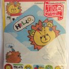 Crux Japan Happiness Lion Letter Set with Stickers Kawaii