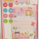 Crinos Japan Sweet Dream Letter Set with Stickers Kawaii