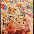 Q-Lia Japan Lovely Hamsters Memo Pad Kawaii