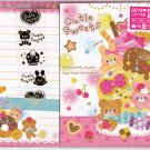 Mind Wave Japan Cutie Sweets Letter Set with Stickers Kawaii