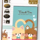 Mind Wave Japan Tito & Tim Letter Set with Stickers Kawaii