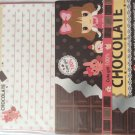 Kyowa Japan Chocolate 100% Cute Girl Letter Set Kawaii