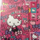 Sanrio Japan Hello Kitty and Ribbons Letter Set with Stickers 2013 Kawaii