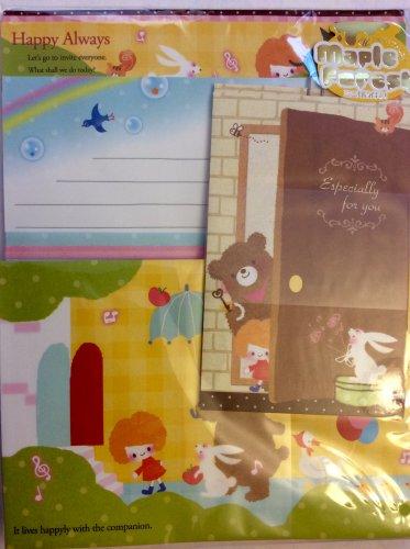 Q-Lia Japan Happy Always Letter Set Kawaii