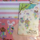 Q-Lia Japan Mino Animal Letter Set Kawaii