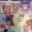 Q-Lia Japan Creamy Bear Letter Set with Bookmarks Kawaii