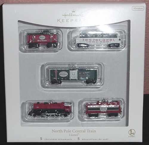 Hallmark 2007 North Pole Central Train - Lionel - NIB