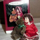 Hallmark Doll & Teddy Bear Ornaments - All 3 - MIB