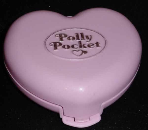 Bluebird 1989 Polly Pocket JEWELLRY BOX Mail Away Only