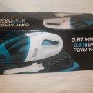 Dirt Magic Wet Dry Auto Handheld Vacuum Bagless Car Shop Vac