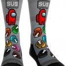 Impostor SUS Socks Among US Funny Socks