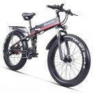 Folding Electric Bike E Bike Fat Tyre Bicycle Folding Bicycle 1000w