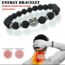 1 Piece of Natural Stone Anti Fatigue Bracelet Men and Women Jewelry