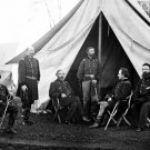 Union General George Meade and Generals Photo