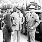 Doyle Hickey, Dwight Eisenhower, and Harry Truman, Neuisenberg, Germany, July 26, 1945 Photo