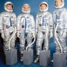 Gemini III Crews Astronauts John Young, Gus Grissom, Walter Schirra Jr. and Thomas Stafford Photo