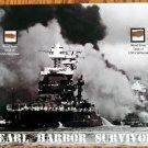 Pearl Harbor Survivor Ship Teak Wood, USS Maryland and USS California