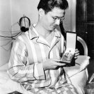 Desmond Doss Shows Off Medal of Honor To Photographer From Hospital 1945 Photo