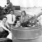 Chicago Cubs Dallessandro, Cuyler, Merullo Visit Camp Campbell, Kentucky July 16, 1943 Photo