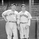 Chicago Cubs Gabby Hartnett and an Unidentified Player 1937 Photo