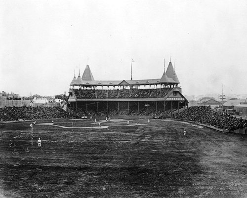 Boston Braves South End Grounds 1893 Photo