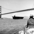 USS Copahee CVE-12 in San Francisco Bay, California July 15, 1943 Photo
