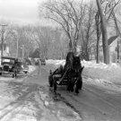 Center of Town Fryeburg, Maine 1939 Photo